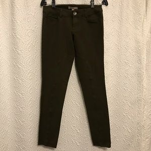 Banana Republic Skinny Olive Green Pants ( 0 )